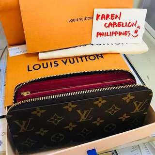Louis Vuitton Monogram Zippy Wallet Fuchsia Interior (Brand-new)