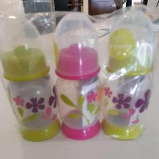 Beabe Gipsy Bottles 140ml (3 pack)