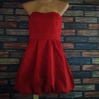 Forever21 Red Tube Dress