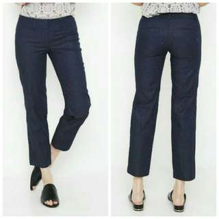 Ann Taylor ankle pants navy blue