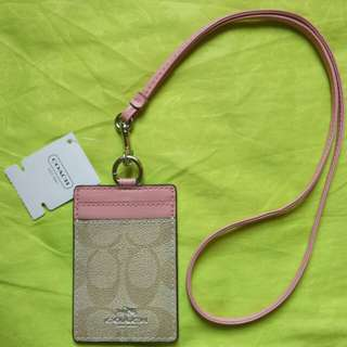 Coach Lanyard/ id card