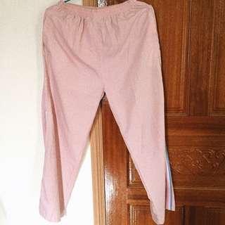 💡 現貨 粉紅色休閒長褲