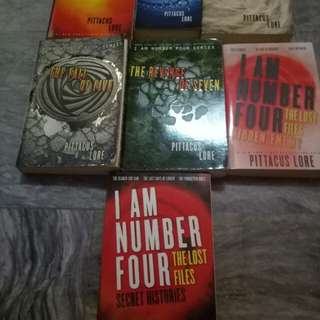 I am number 4 books
