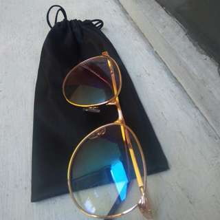 CLEAR BRONZE EYEGLASSES