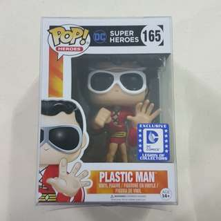 Legit Brand New With Box Funko Pop Heroes DC Superheroes Plastic Man Legion Of Collectors Exclusive