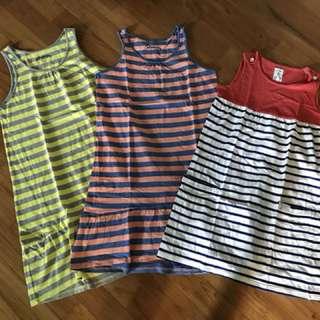 3-Piece Cotton Dress Bundle