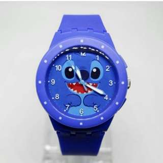 Jam tangan free custom (model SWATCH RUBBER)