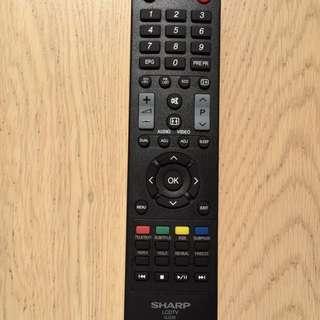 聲寶 電視 遙控 Sharp TV remote