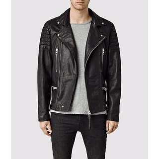 🚚 Allsaints Kane leather jacket  絕版 皮衣 騎士 外套 s號 羊皮 All saints