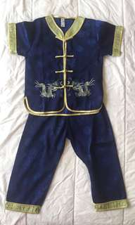 Boys Chinese New Year outfit
