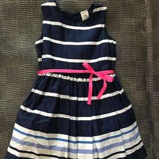 Carters stripes blue dress