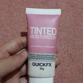 Quickfx tinted moisturizer