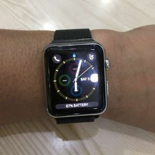 Apple Watch 1 42MM stainless steel