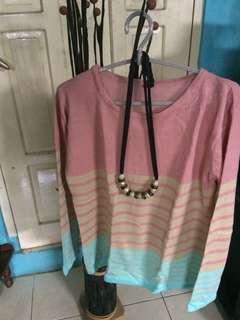 Baju wanita sweater Cantik