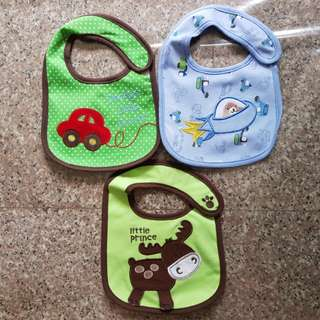 BN Baby Bibs with Designs