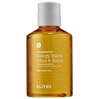 Blithe Energy Yellow Citrus & Honey