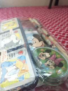 A Mickey Mouse Stationary Set
