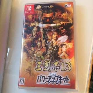 Switch 三國志13 威力加強版 Game