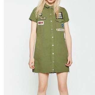 SALE Army Green dress