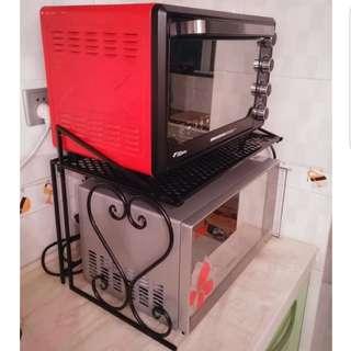 Microwave/Oven steel coated RACK