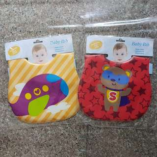 BNIP Waterproof Baby Bibs