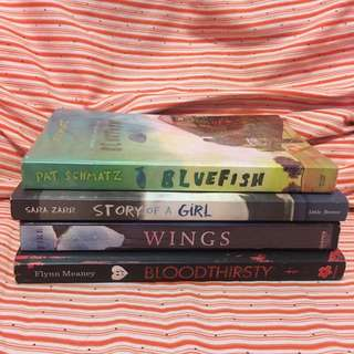 BUNDLE BOOKS YA PRELOVED