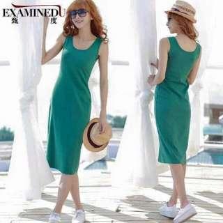 SALE Mint green maxi dress