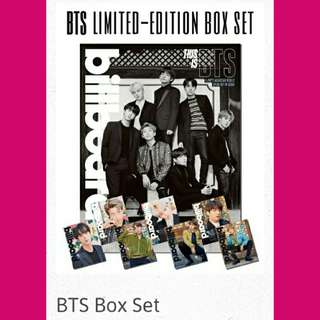 [P0] BTS BILLBOARD MAGAZINE BOX SET