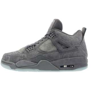 NIKE AIR JORDAN 4 RETRO COOL GREY/WHITE KAWS