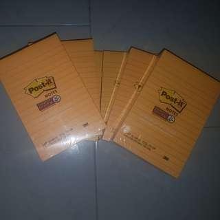 Instock 3 Large Super Sticky Post - it brand CHEAP!!!