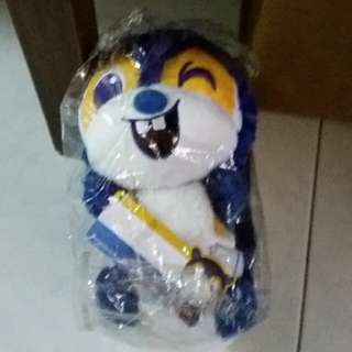 (BNIB) POSB squirrel plush toy