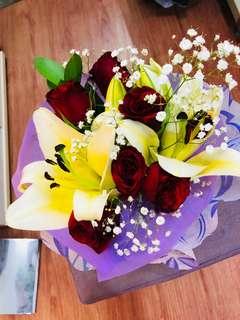 Rose/Lilies Bouquet
