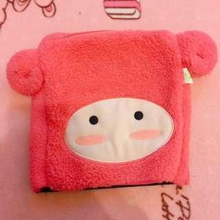 桃紅色綿羊保暖袋🐑💕