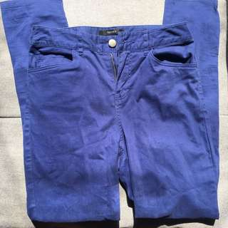 F21 dark blue pants