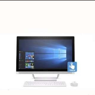 """Like Brand New HP Pavilion 24"""" All-in-One PC Desktop Touch Screen"""