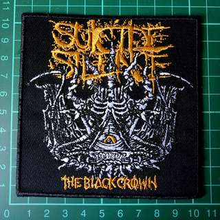 Suicide Silence Embroidery Iron-on Patch