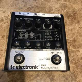 Tc electronic Nova repeater delay RPT-1