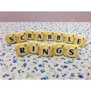Mickey Mouse Scrabble Ring