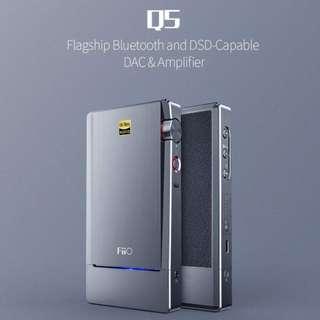 全新 FiiO Q5 耳機耳擴 支援 DSD Hi-Res AptX 無線藍牙 2.5mm 平衡 Amplifier AMP