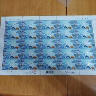 香港特區成立20周年3.7版票
