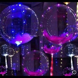18in LED Fairy Balloons 1 SET (3pcs)