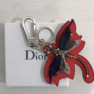 Authentic Dior Leather Bag Charm