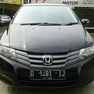 Honda city e AT 2010 hitam
