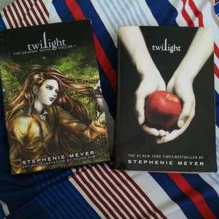 Twilight Graphic Novel + Twilight novel