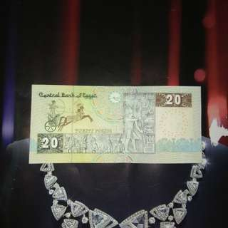 埃及纸币 20 poubd