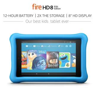 Amazon Fire HD 8 Kids Edition Tablet 8 Inch 32GB Kid Proof Case BLUE