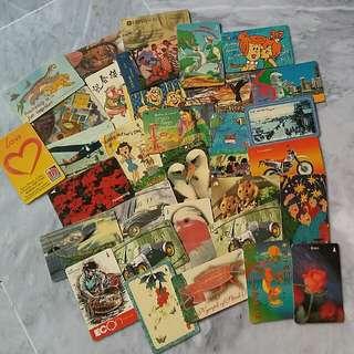 Vintage Phone Cards