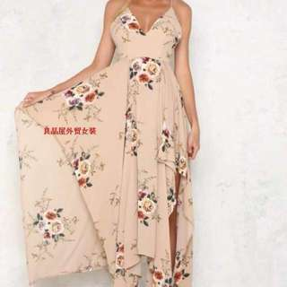 (cd) long dress fits S-L