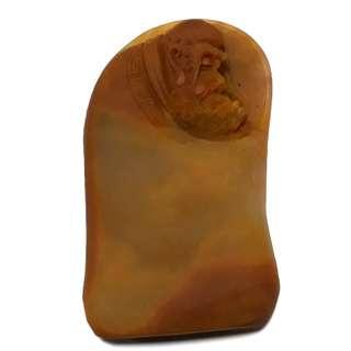 黄龍玉罗汉雕刻像