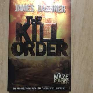 The Kill Order book (new)